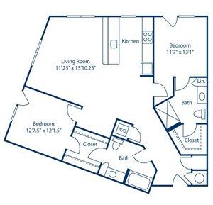 Park and Market B2E floor plan