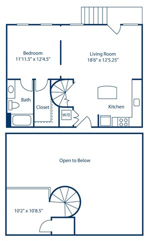Park and Market A1F floor plan