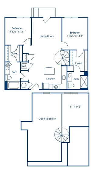 Park and Market B2F floor plan