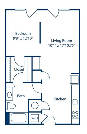 Park and Market S1A floor plan