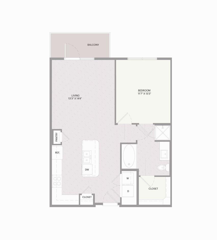 Promenade A1I floor plan