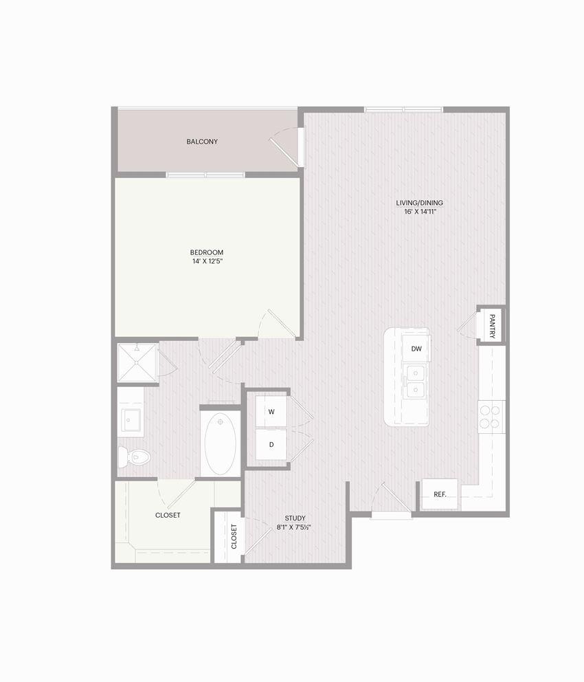 Promenade A1X floor plan