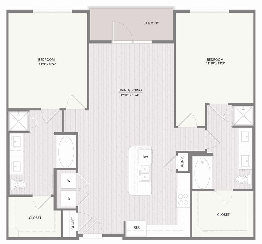 Promenade B2E floor plan