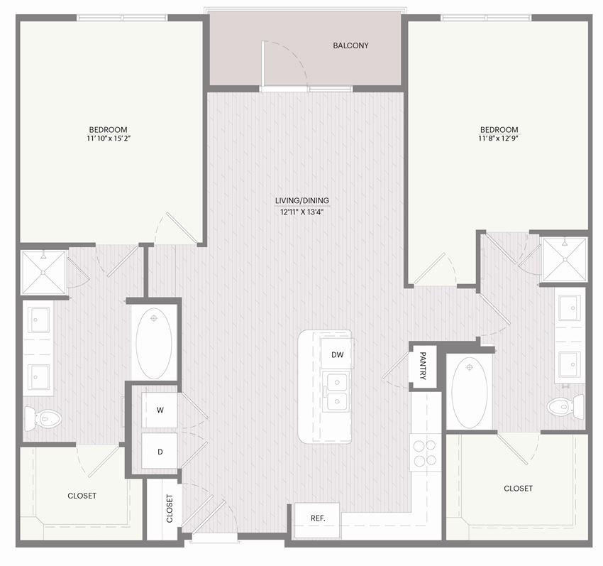 Promenade B2L floor plan