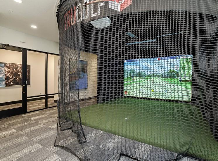 Element 25 apartments virtual golf