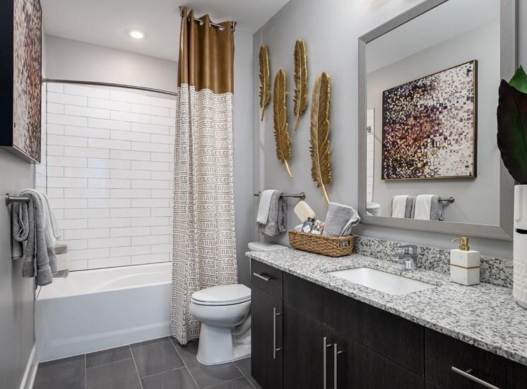 Luxurious Bathrooms at Cameron Square, Alexandria, VA