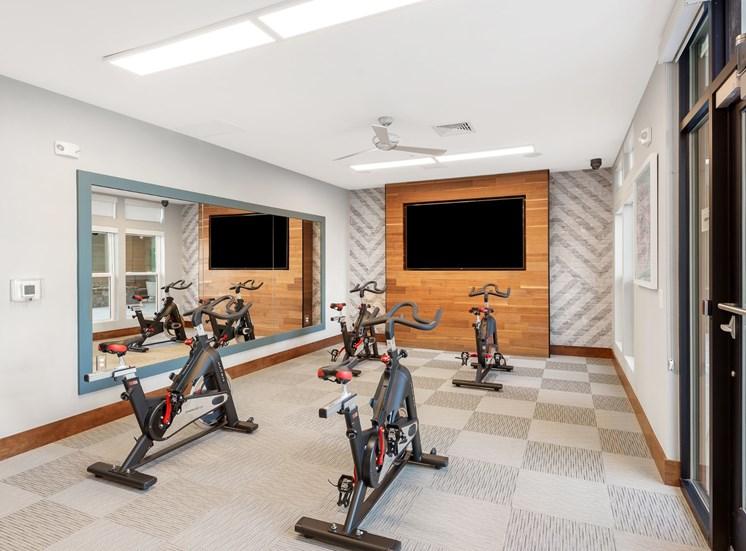 Peloton Bike And Training Space at Cameron Square, Alexandria
