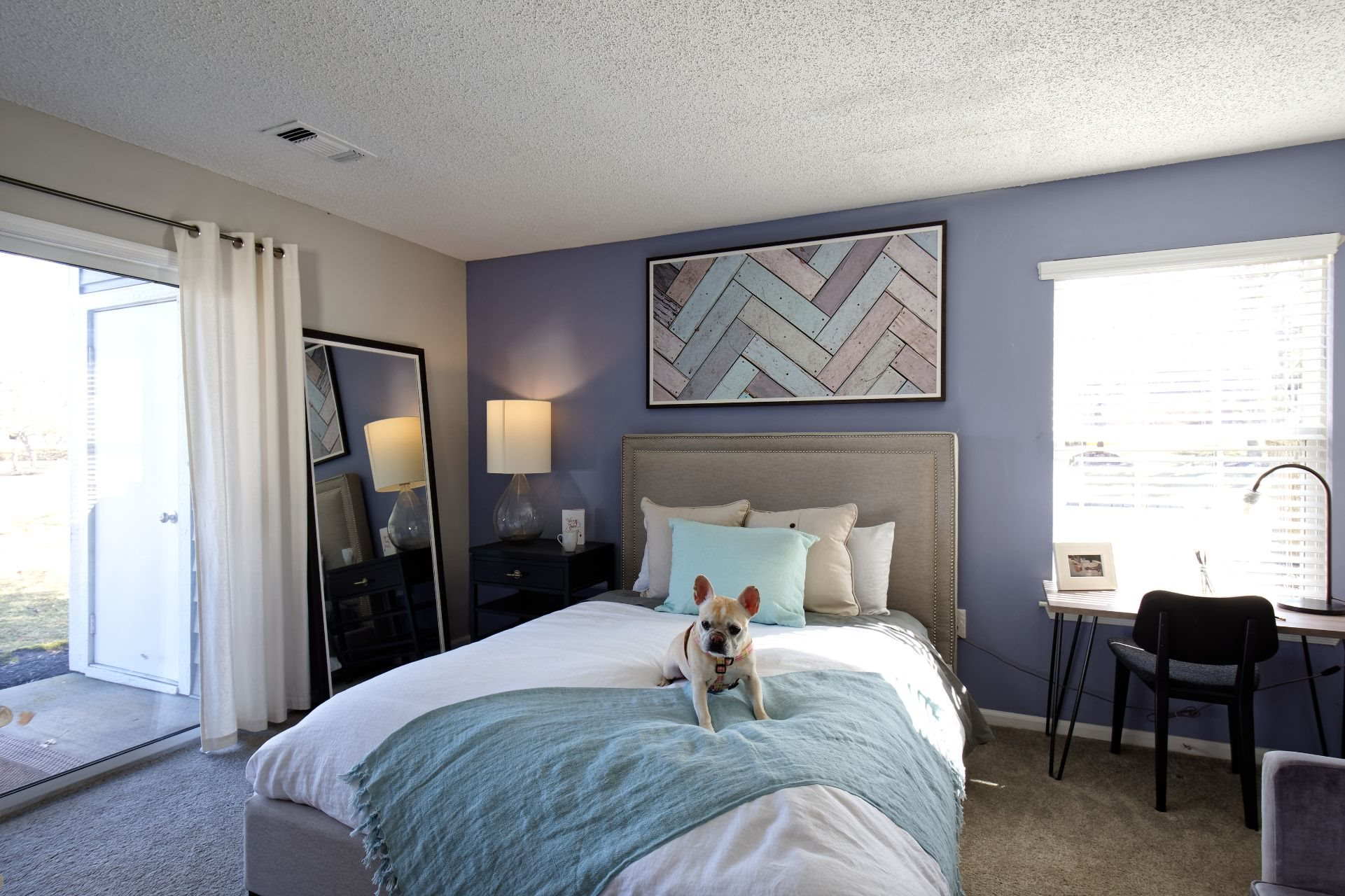 Pet Friendly Newly Renovated 1, 2 and 3 Bedroom Apartments in Lawrenceville NJ with Large Bedrooms and Closets, Work-From-Home Space,  Private Patio and Spa Baths, -1000 Steward Crossing Way Lawrenceville NJ 08646