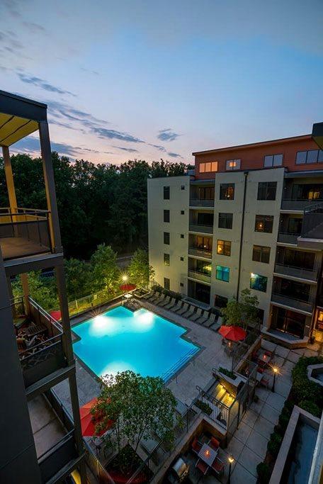 Saltwater pool eon Atlanta GA
