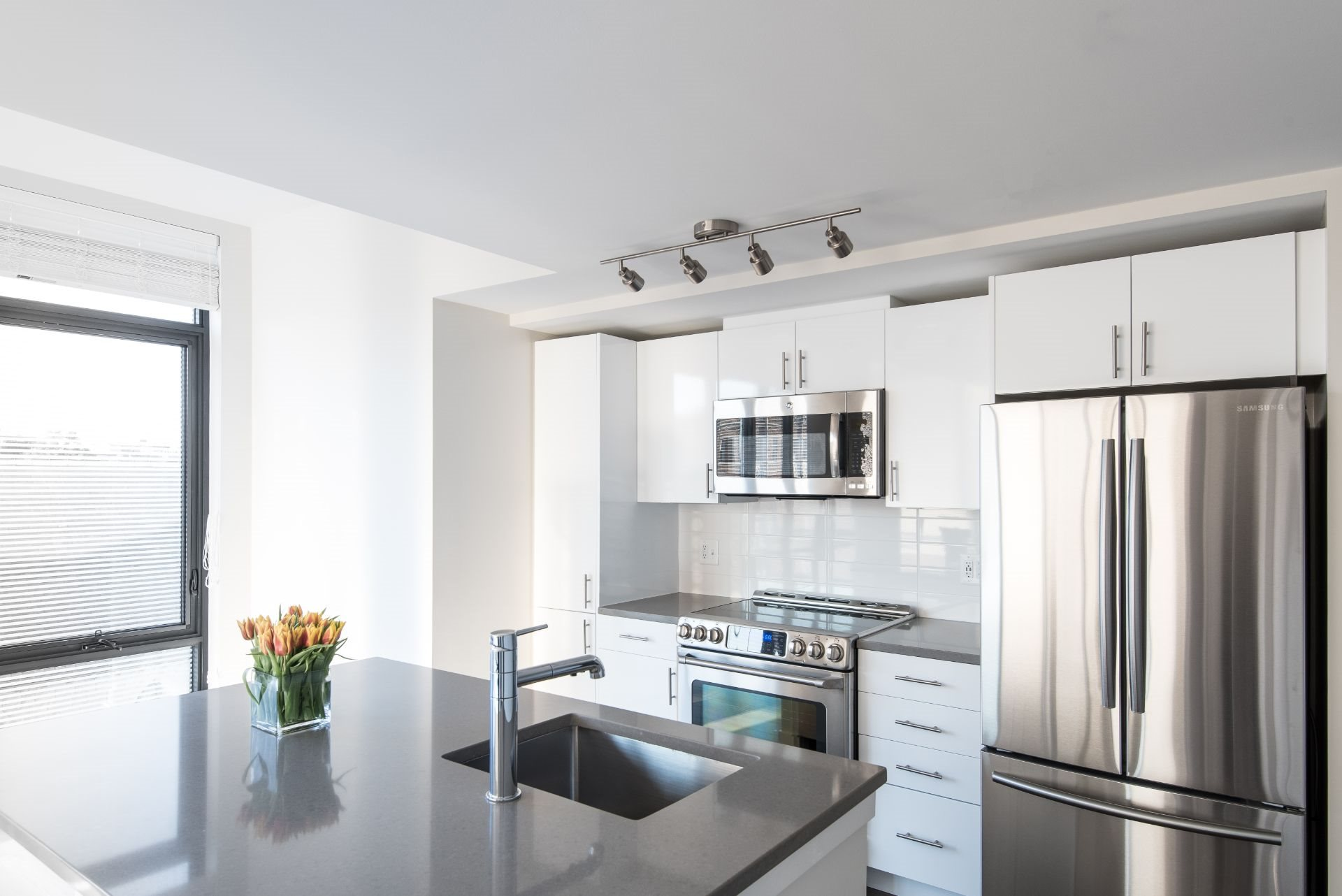Brand New Luxury Studio, 1 and 2 Bedroom Apartments in DC with Chefs Kitchen, Stainless Appliances and Quartz Counters-Berkshire 15 Apartments