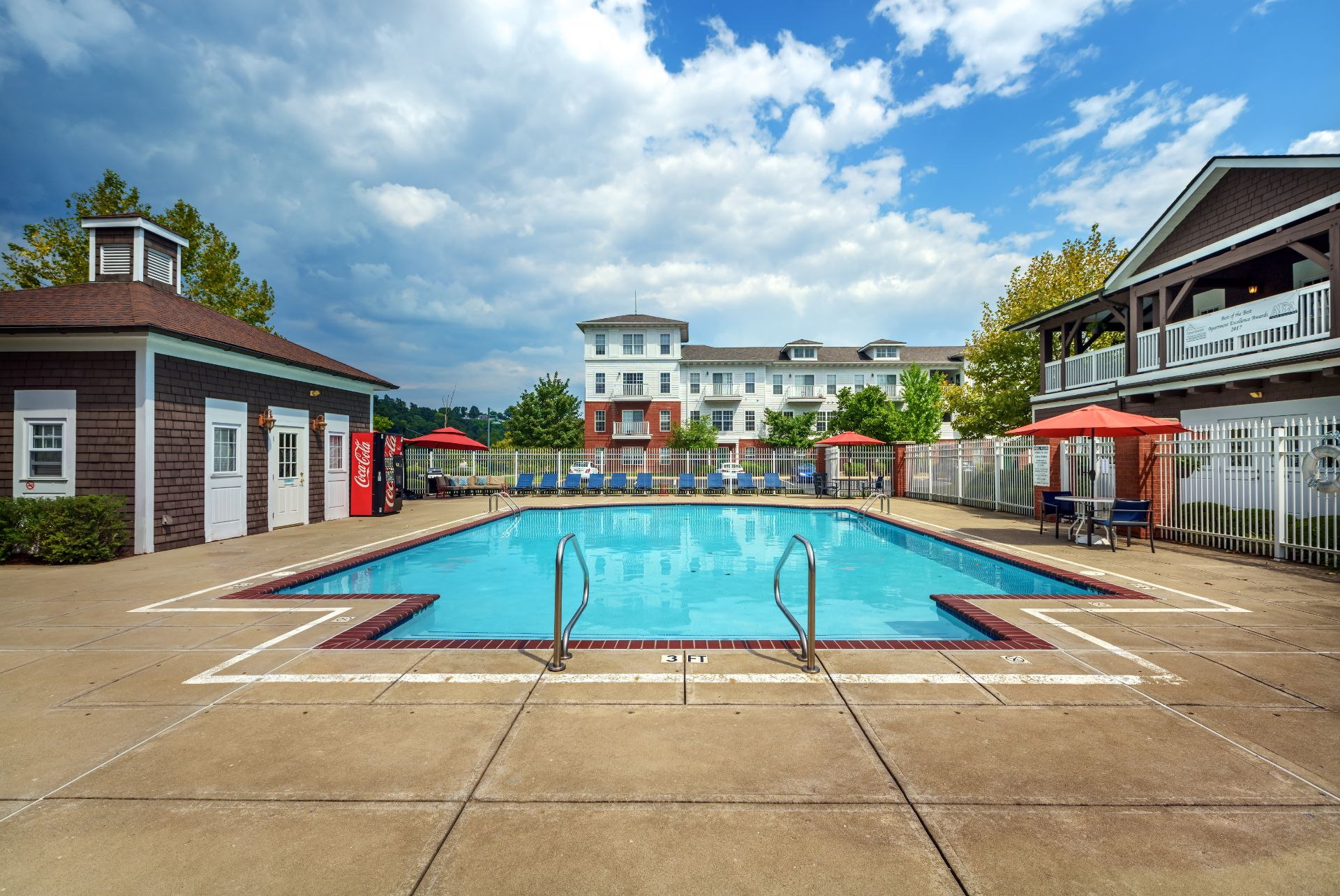 The Waterfront Apartments and Townhomes with a Pool and Sundeck,  611 E. Waterfront Drive, Munhall, PA 15120