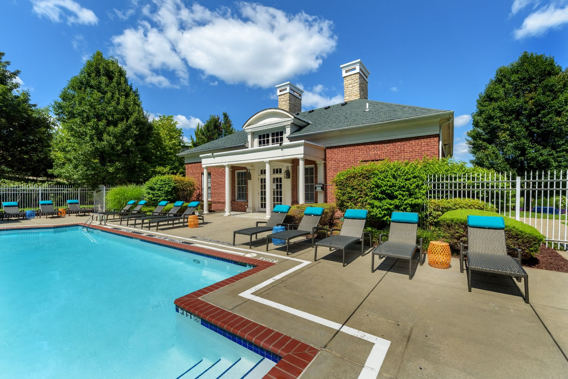 Pool and Clubhouse Christopher Wren Apartments, 501 Christopher Wren Drive, Wexford, PA 15090