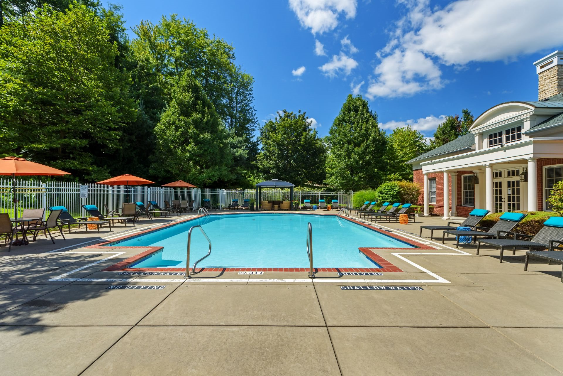 Swimming Pool at Christopher Wren Apartments