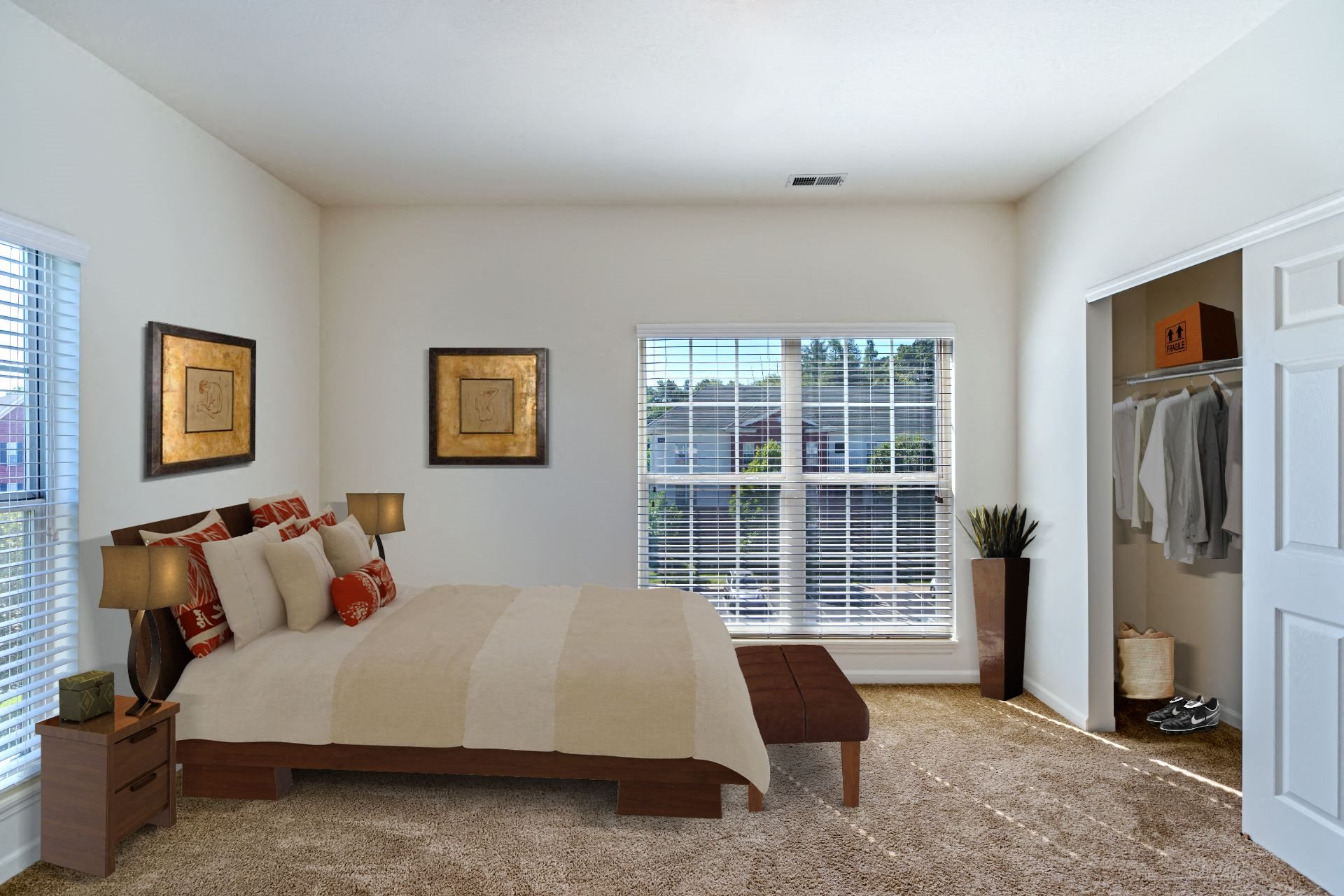 Christopher Wren Apartments, 501 Christopher Wren Drive, Wexford, PA 15090 Large Apartments with Spacious Closets