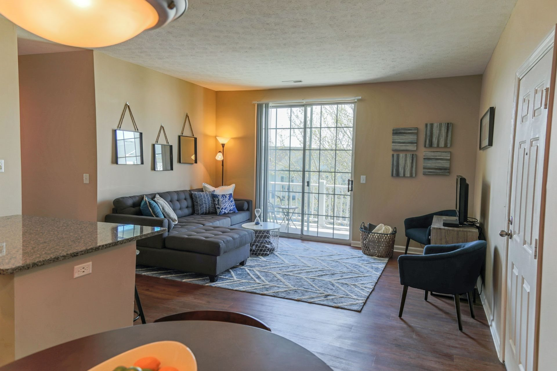 Luxury 1, 2 and 3 Bedroom Apartments and Townhomes in West Chester OH with Open Concept Living and Private Balcony or Patio--The Preserve at Beckett Ridge Apartments and Townhomes-2515 Fox Sedge Way, West Chester OH 45069