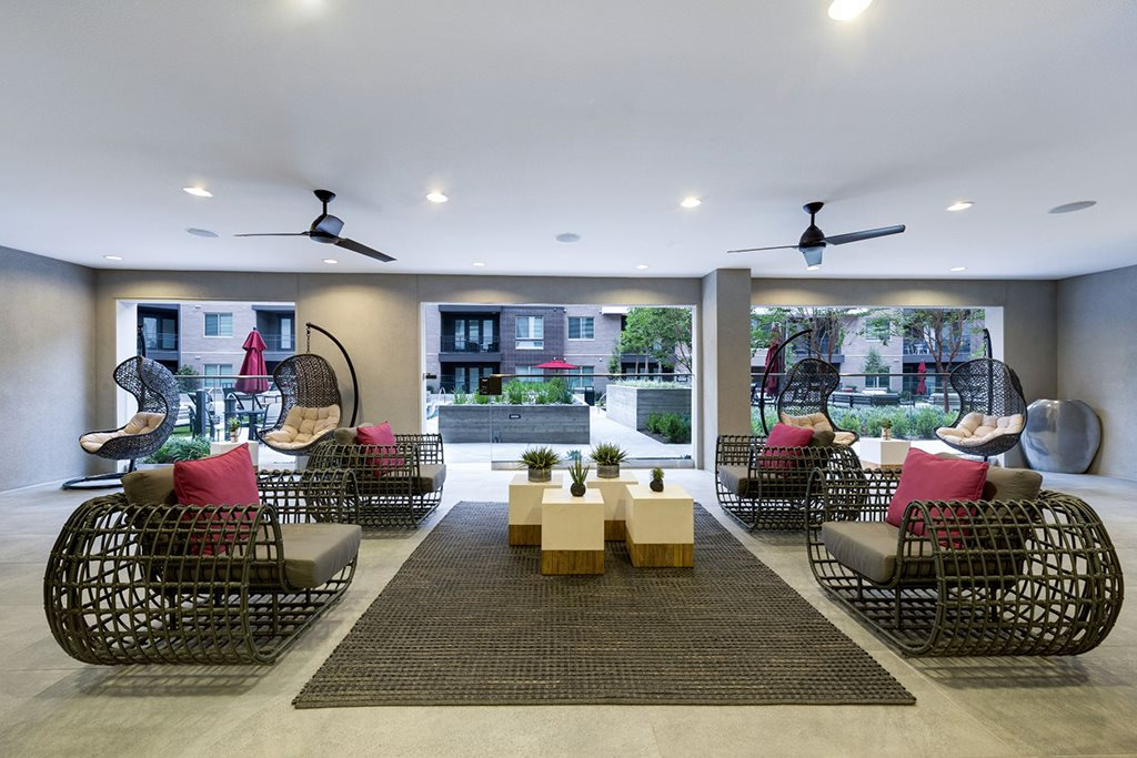 Carpeted Lounge Area at North Dallas TX