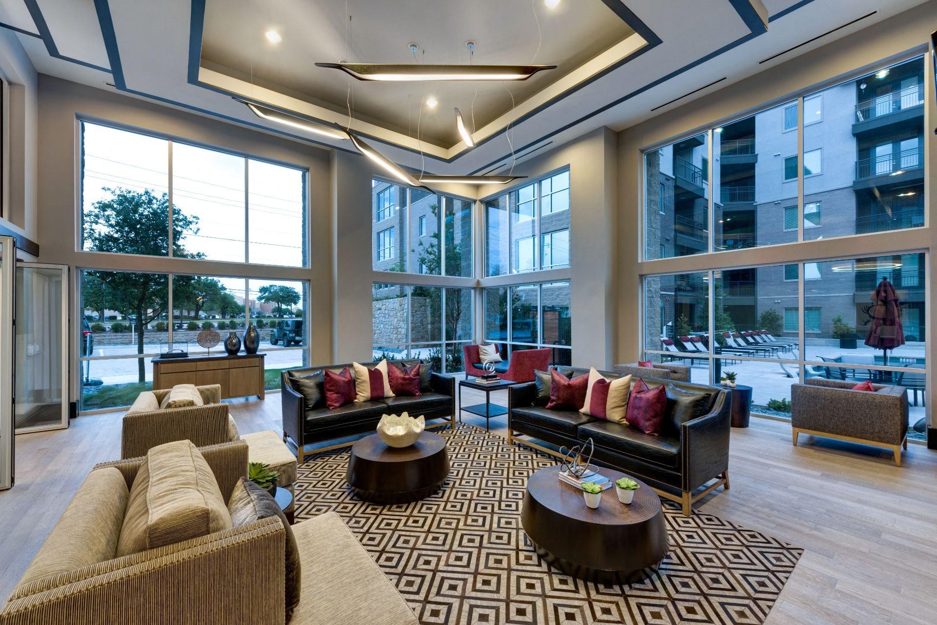 Classic Lounge Design at North Dallas TX