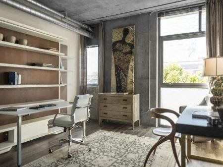 Urban Architectural Materials Such As Exposed Concrete at Met Lofts, California