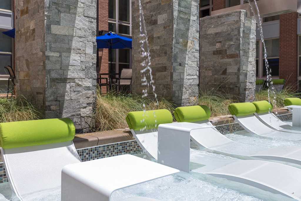 Pool Lounging Area at Berkshire Chapel Hill, Chapel Hill