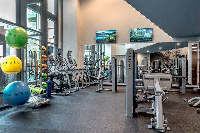 State Of The Art Fitness Center at Bridges at Berkshire Chapel Hill, North Carolina