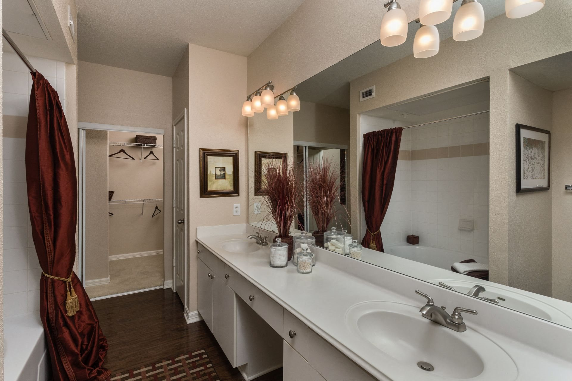 Luxurious Bathrooms at Estates at Bellaire, Texas, 77081