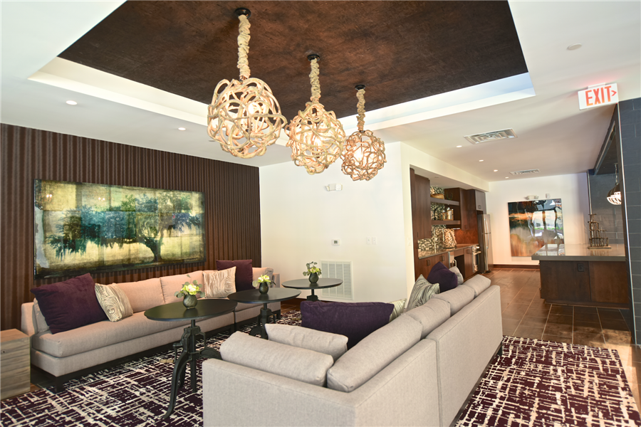 Social Lounge at Berkshire Howell Mill, Atlanta, GA, 30318