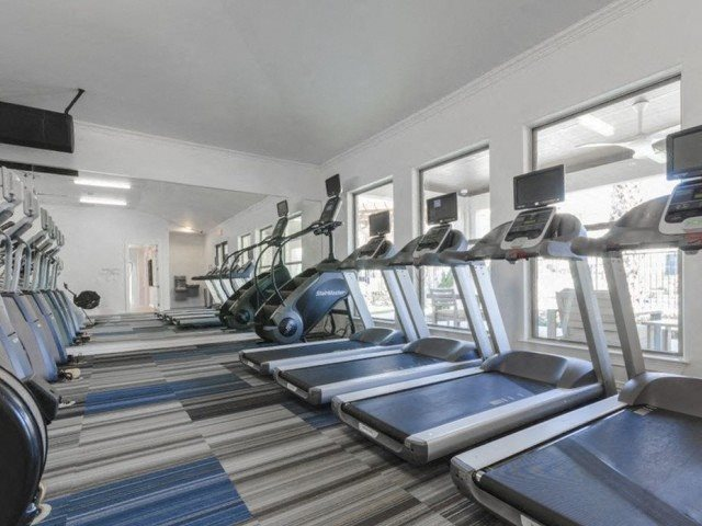 Cardio Machines In Gym at Berkshire Preserve, Texas
