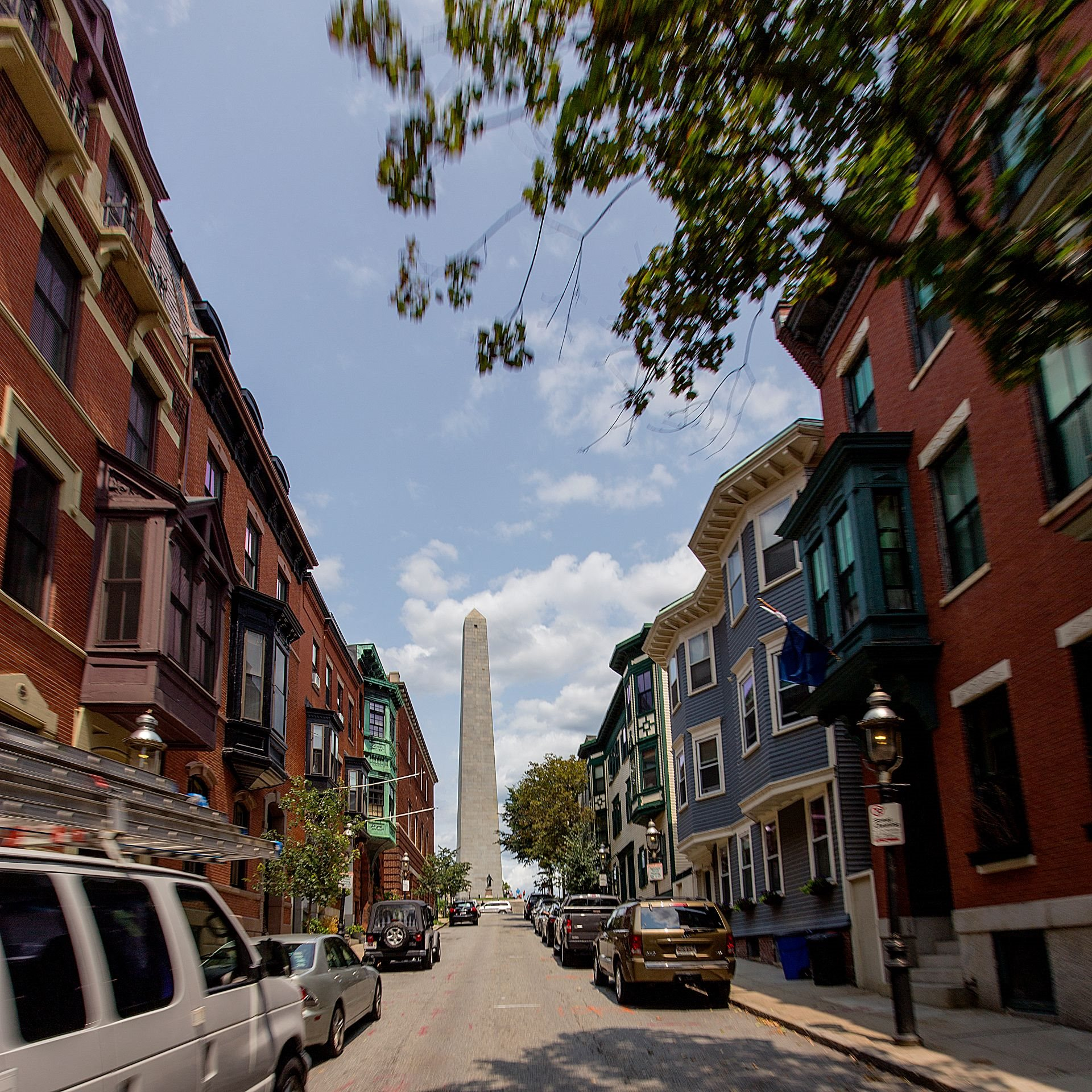 Charming New England Downtown Charlestown main street with Bunker Hill Monument Views, shopping, dining, nightlife and conveniences, just minutes to Zakim Bridge at Gatehouse 75, Charlestown, MA