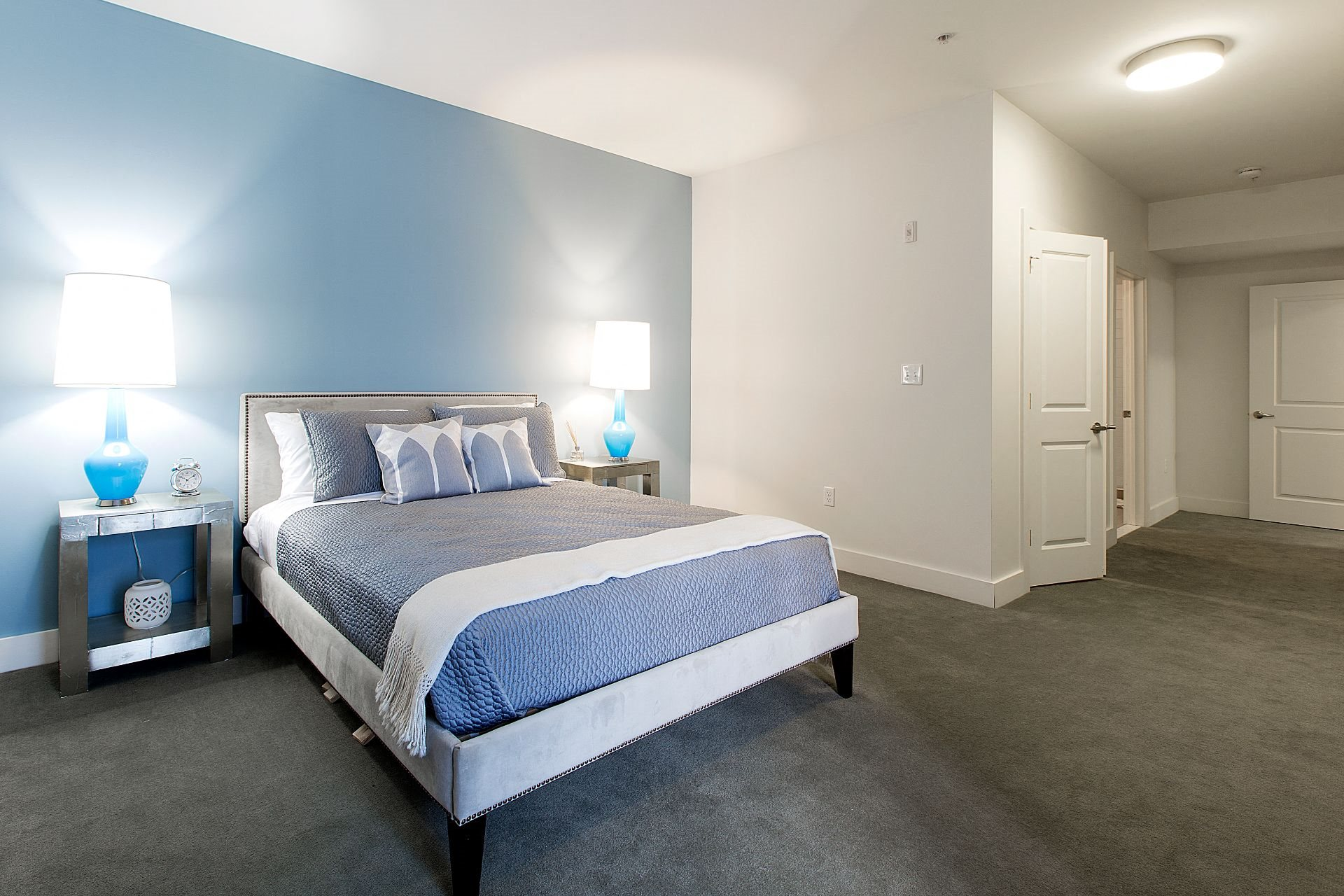 Queen Size Bedrooms with Abundant Closets at Gatehouse 75, Charlestown, MA