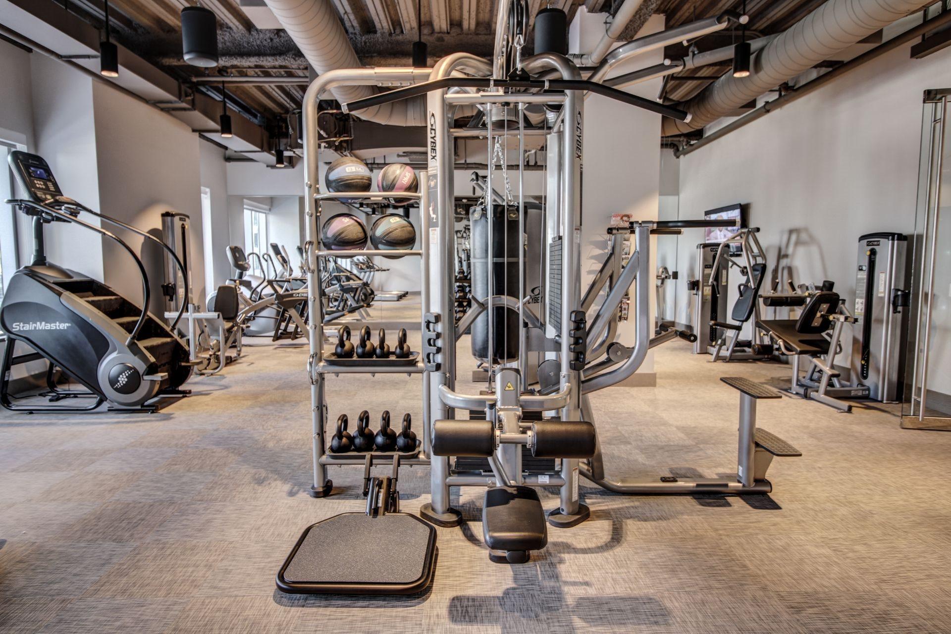 State Of The Art Fitness Center at Via Seaport Residences, Massachusetts, 02210