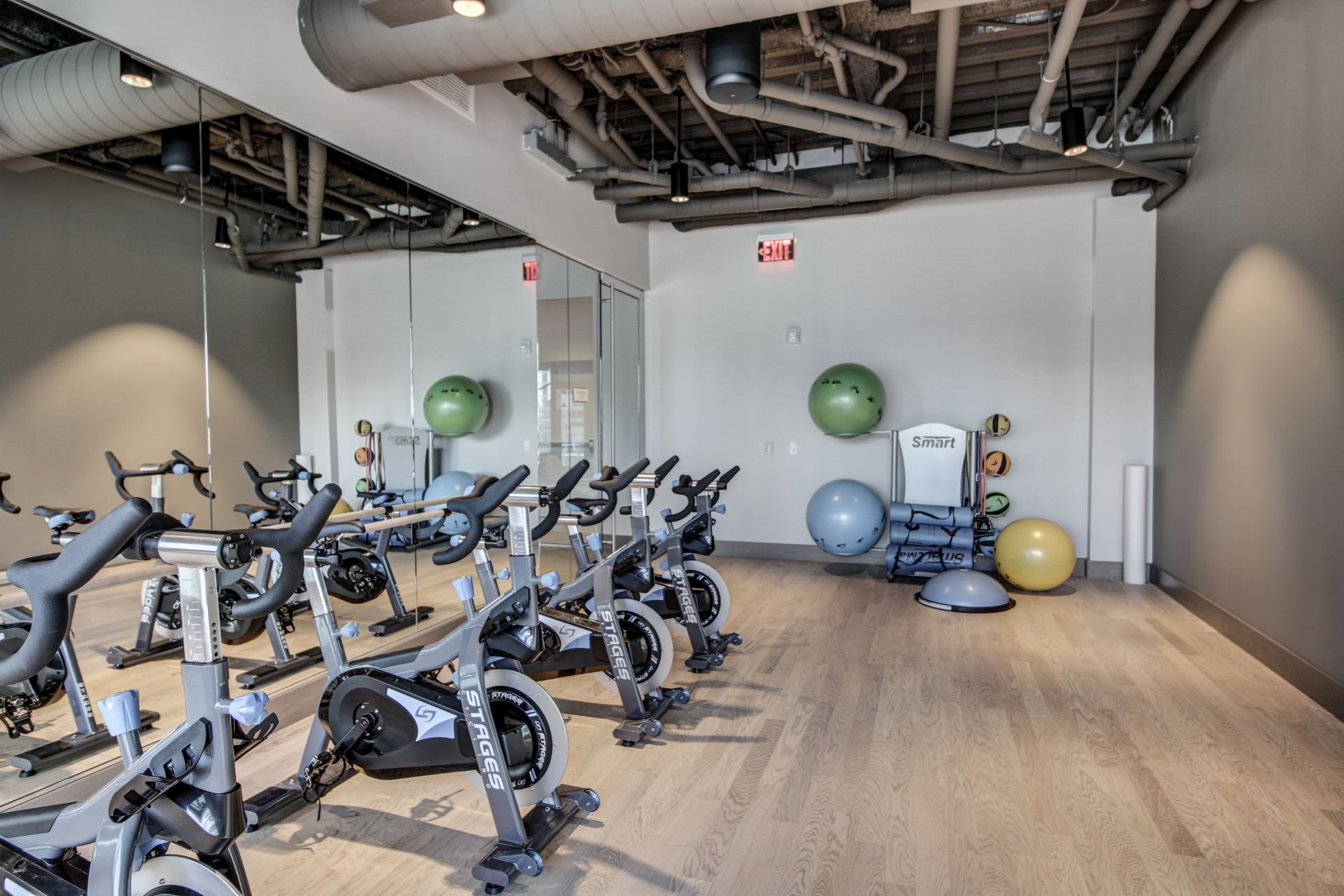 Yoga_Studio_and_TRX at Via Seaport Residences, Boston, MA, 02210