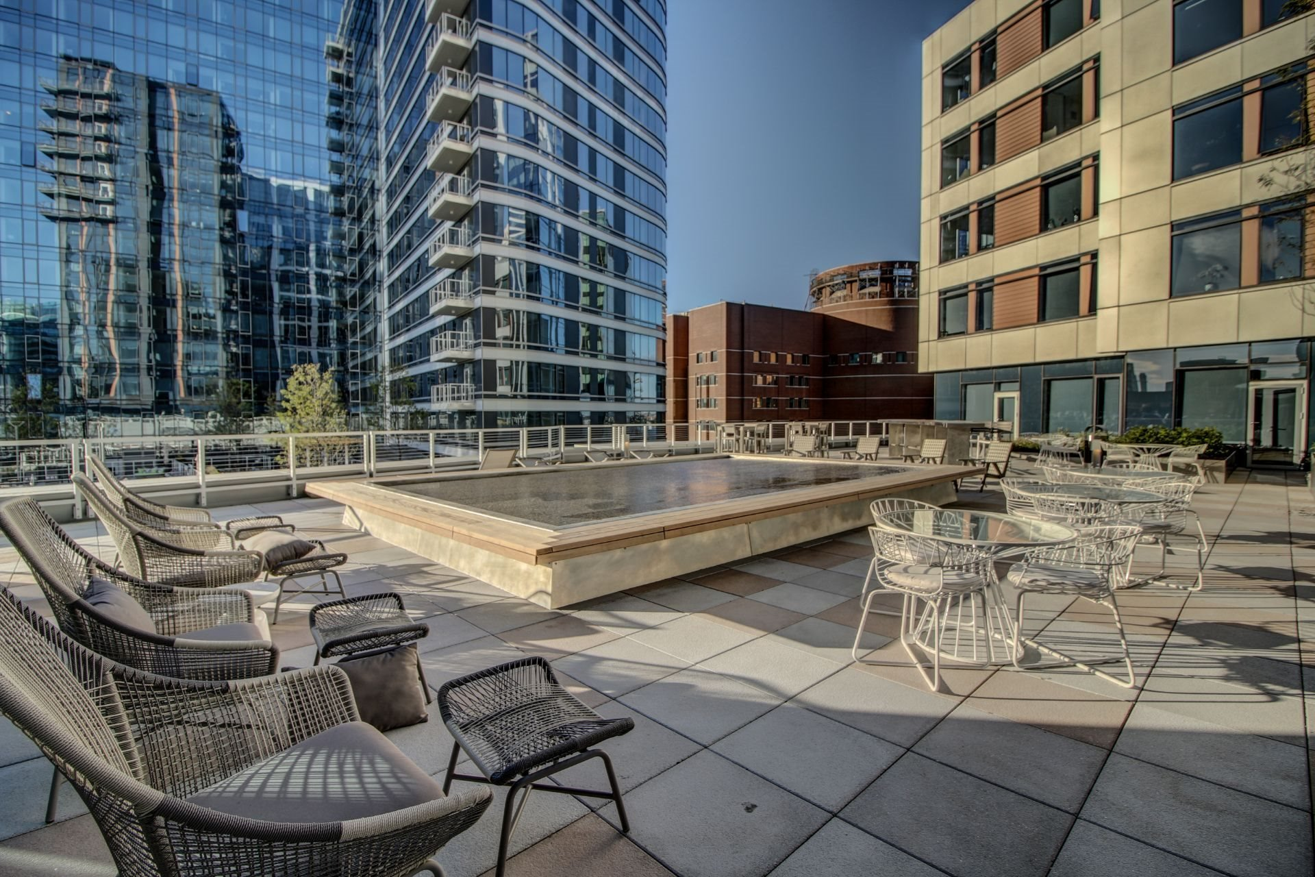 Healthy Living in Boston Seaport-9000 SF of Outdoor Amenity Space-VIA Seaport Residences