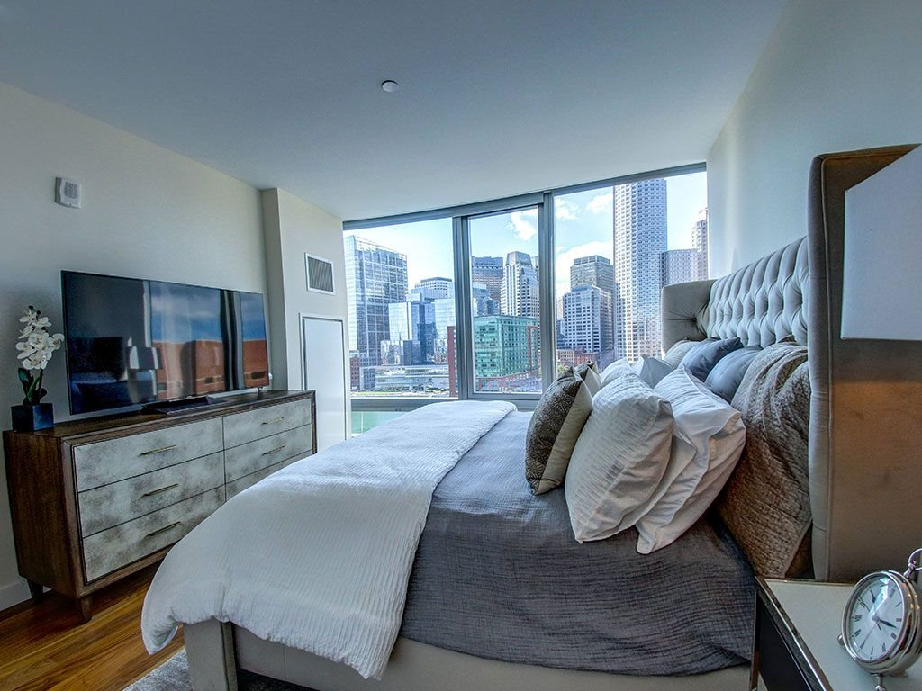 Apartments Boston Seaport with Waterviews and City Views-The Benjamin Seaport Residences