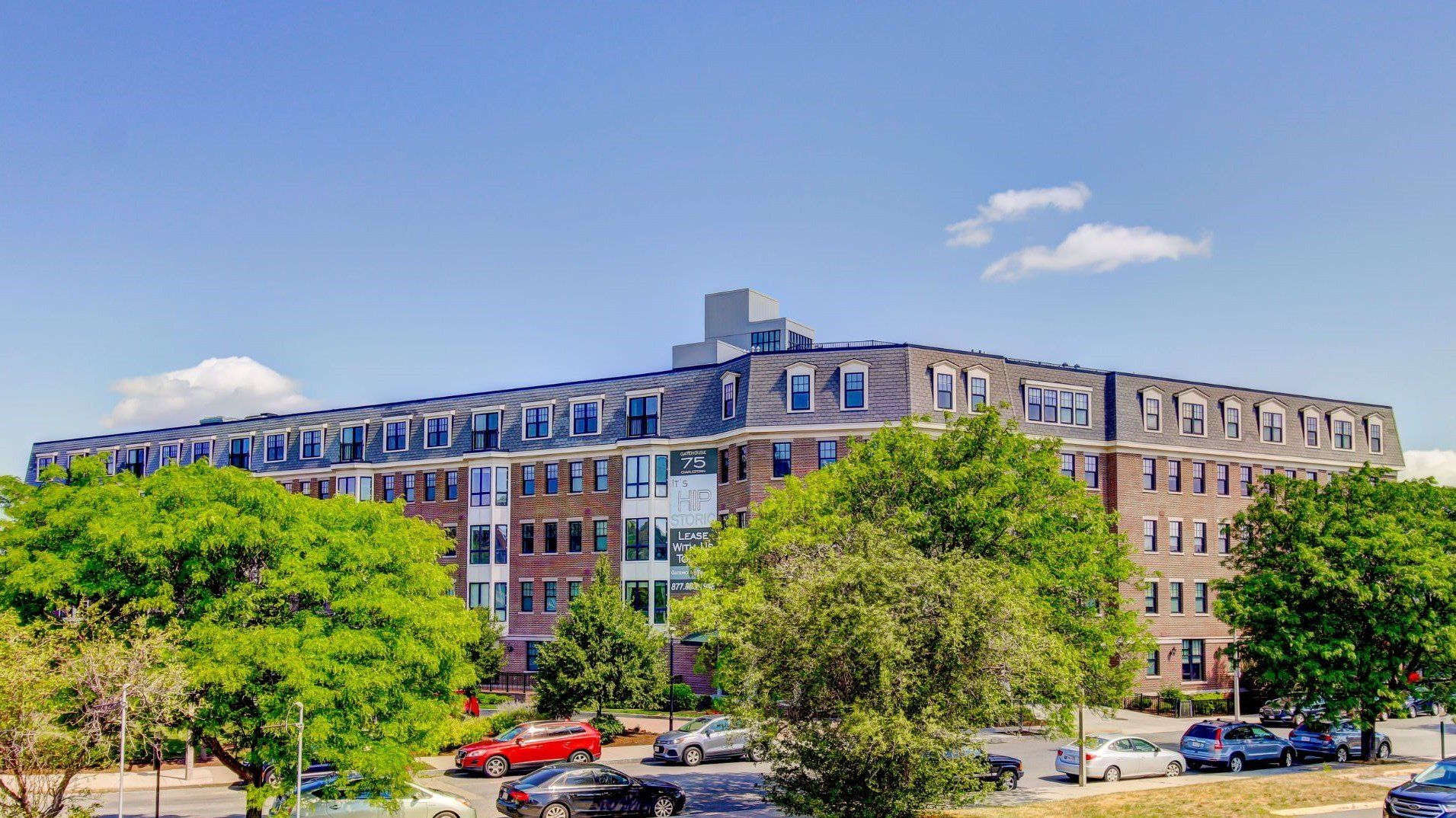 Exterior Building Gatehouse 75 Apartments Charlestown MA