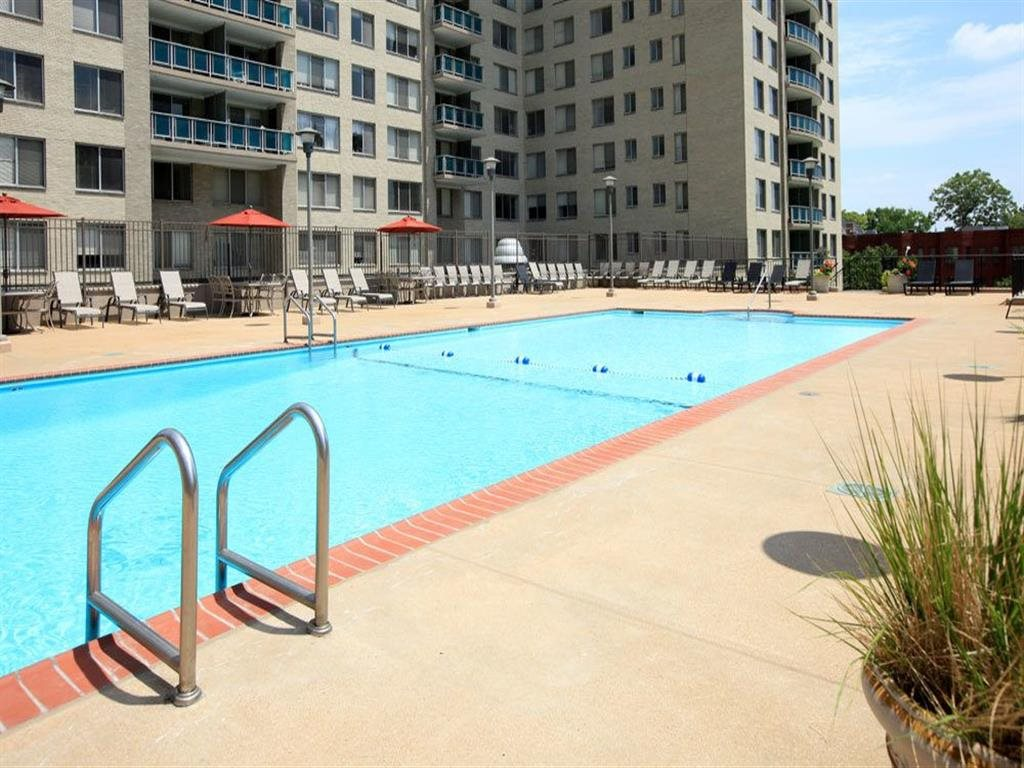 Swimming Pool with Lounge Seating at Towne House, Missouri, 63108