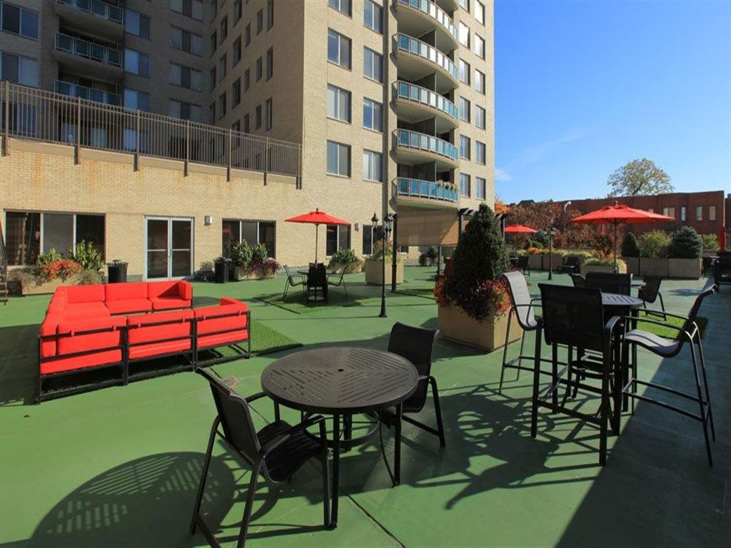 Outdoor Lounging Area at Towne House, Missouri