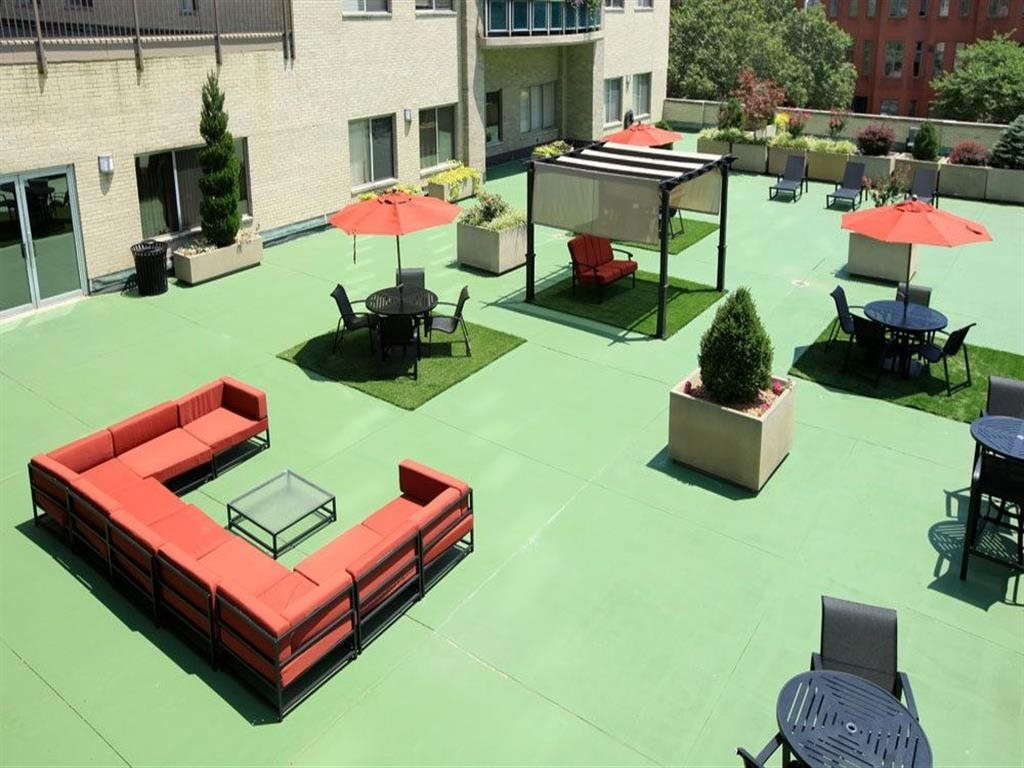 Outdoor Lounge at Towne House, St. Louis, 63108