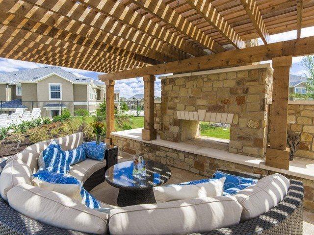 Outdoor Gazebo at Villages of Briggs Ranch, San Antonio, Texas