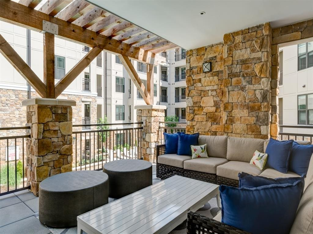 Berkshire Dilworth outdoor living area