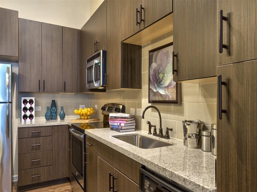 Berkshire Main Street kitchen with stainless appliances