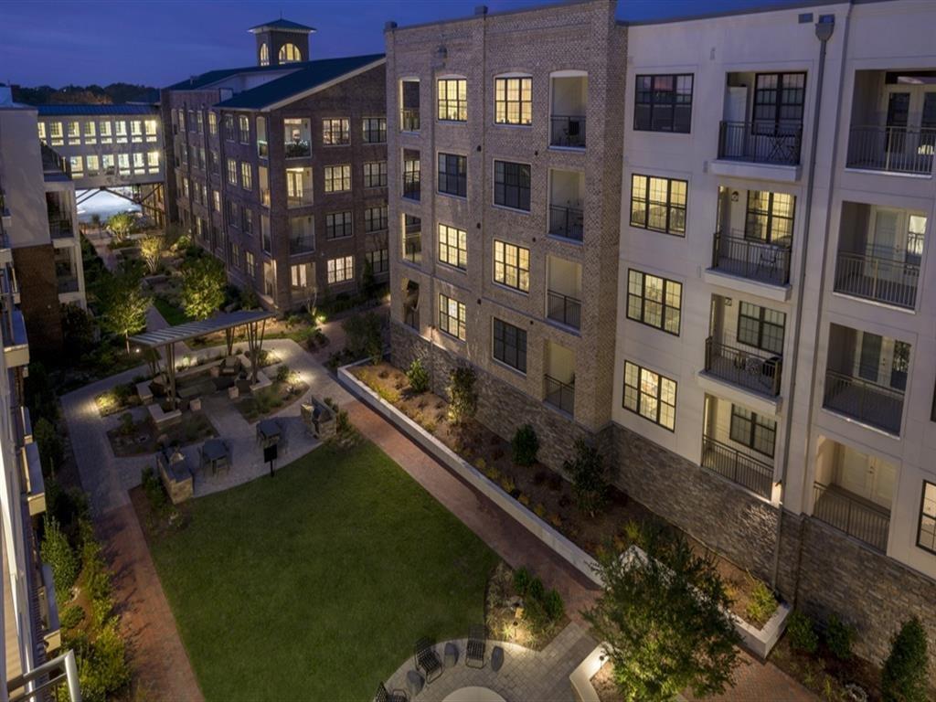 Drone Exterior View at Berkshire Ninth Street, North Carolina