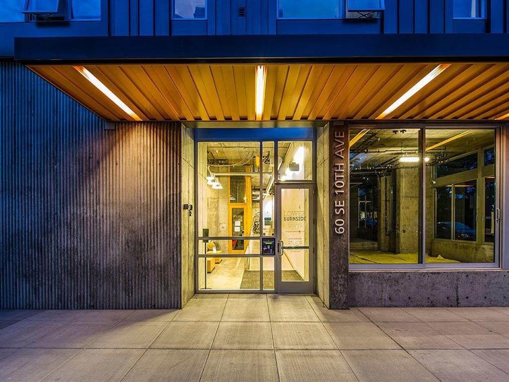 at Lower Burnside Lofts, Portland, OR