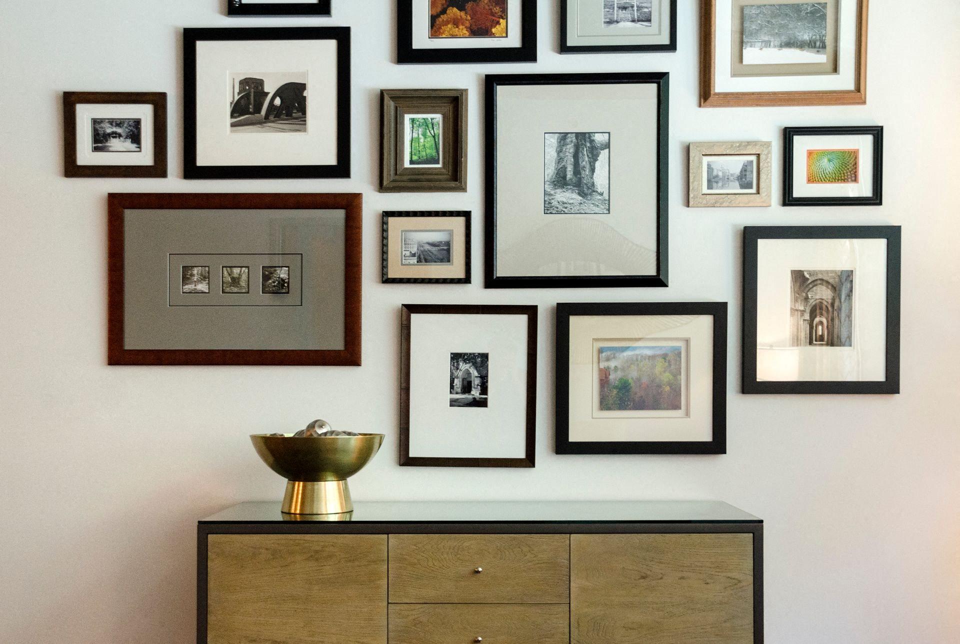 Wall Frames at Met Lofts, Los Angeles, CA