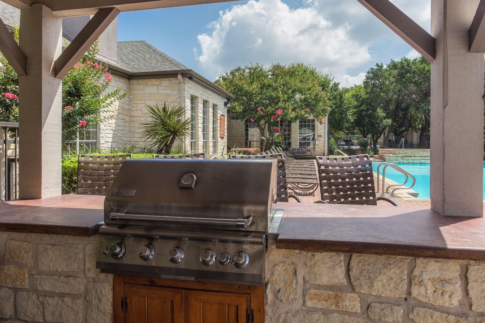 BBQ Grill at San Marin, Austin