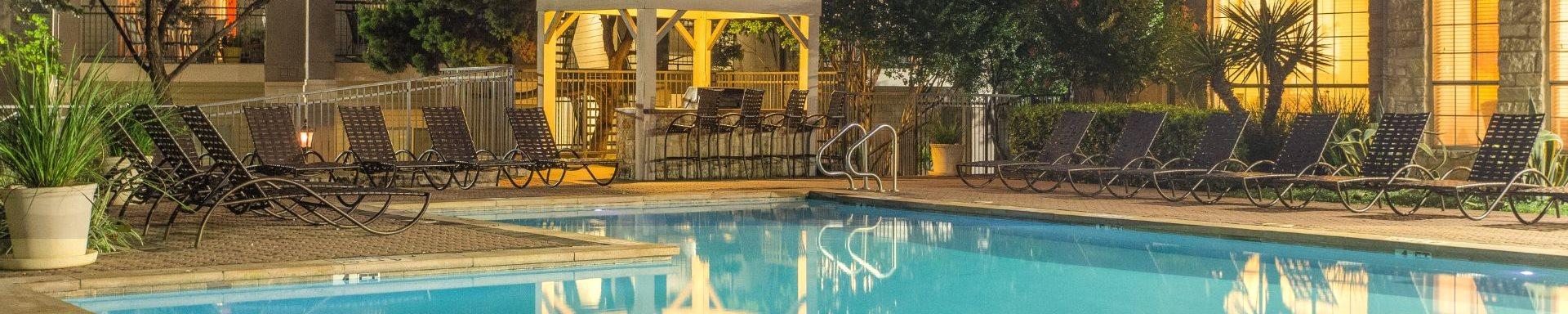 Glimmering Pool at San Marin, Austin, Texas