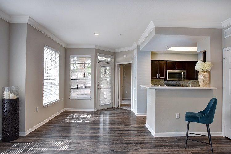 Wood Floor Kitchen at Greenbriar Park, Texas, 77030