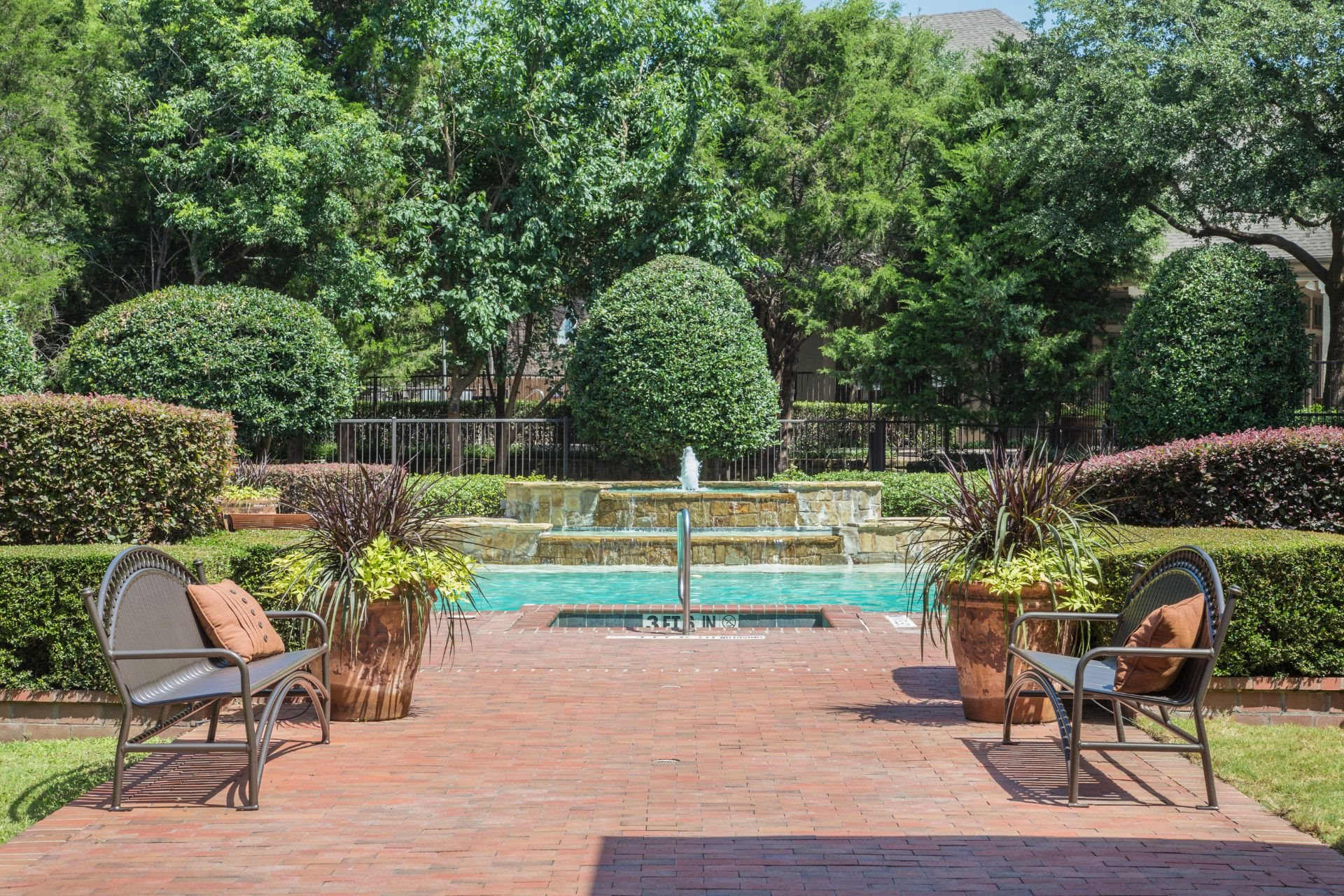Four Swimming Pools at Stoneleigh on Spring Creek, Texas, 75044