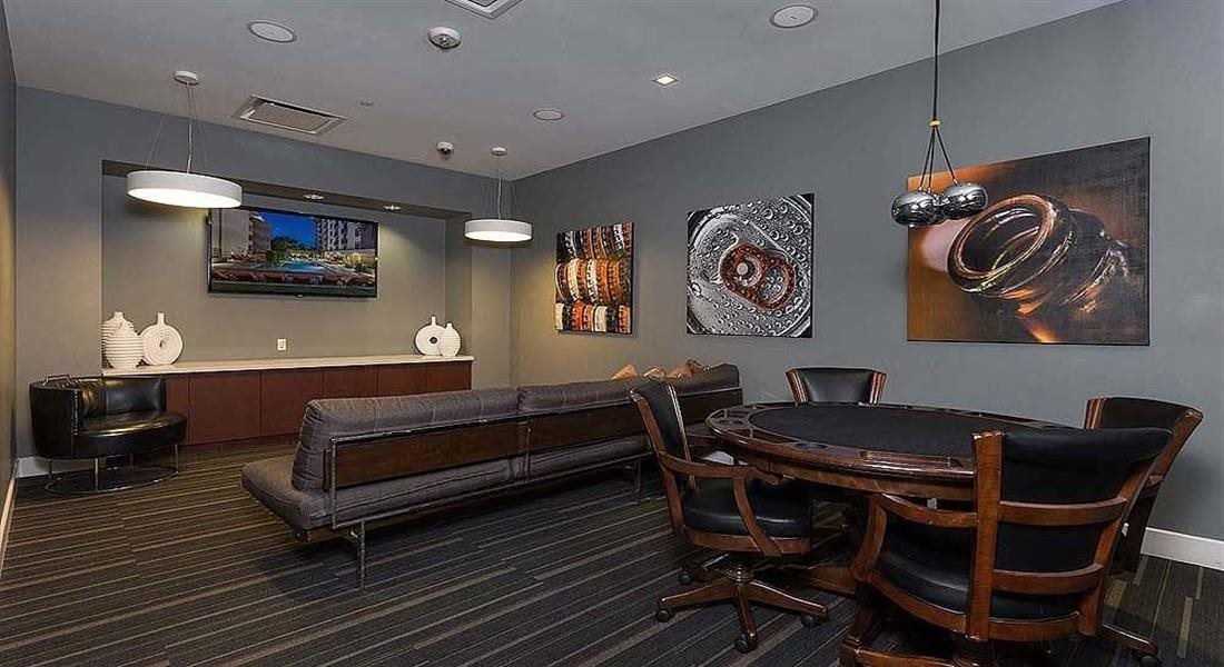 Media Lounge at Berkshire Riverview, Austin, 78741