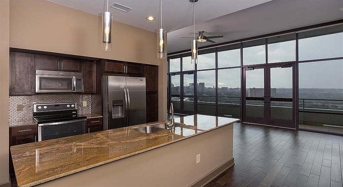 Stainless Appliance Package at Berkshire Riverview, Texas