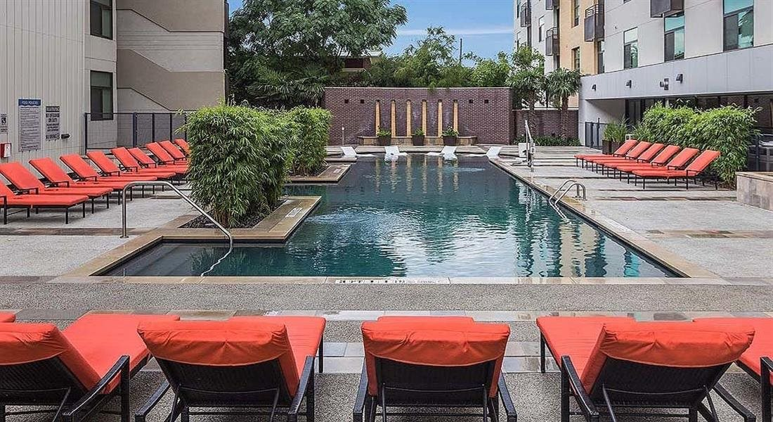 Pool With Sunning Deck at Berkshire Riverview, Texas, 78741